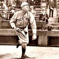 Babe Ruth Pitcher  - 1