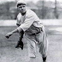 Babe Ruth Pitcher  - 7