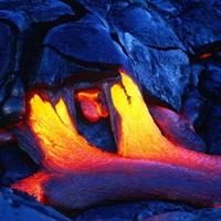 Hawaiian Lava Flow 01