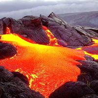 Hawaiian Lava Flow 03