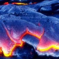 Hawaiian Lava Flow 05