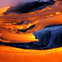 Hawaiian Lava Flow 06