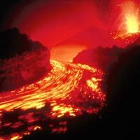 Hawaiian Lava Flow 08