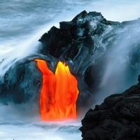 Hawaiian Lava Flow 09