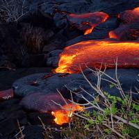 Hawaiian Lava Flow 11