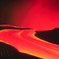 Hawaiian Lava Flow 12