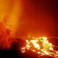 Hawaiian Lava Flow 14