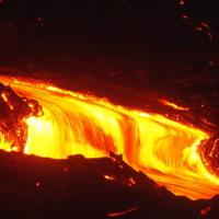 Hawaiian Lava Flow 16