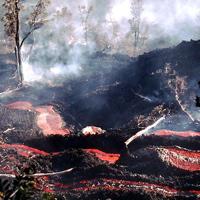 Hawaiian Lava Flow 17