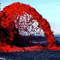 Hawaiian Lava Flow 21