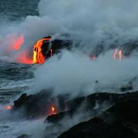 Hawaiian Lava Flow 23