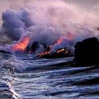 Hawaiian Lava Flow 24