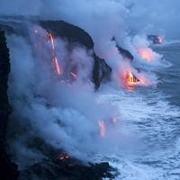 Hawaiian Lava Flow 25