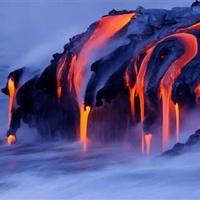 Hawaiian Lava Flow 26