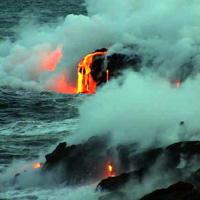Hawaiian Lava Flow 38