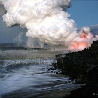Hawaiian Lava Flow 44