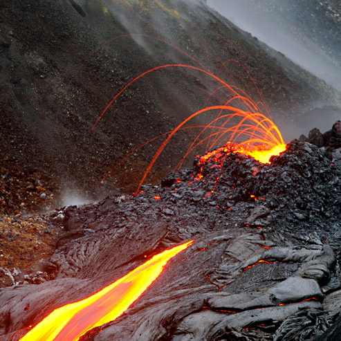 Hawaiian Lava Flow 46