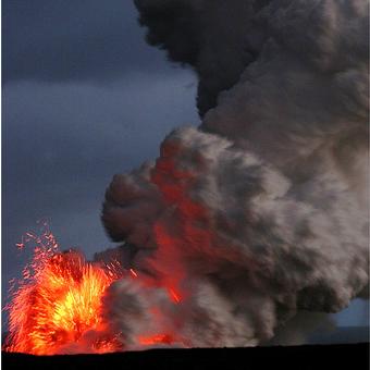 Hawaiian Lava Flow 48