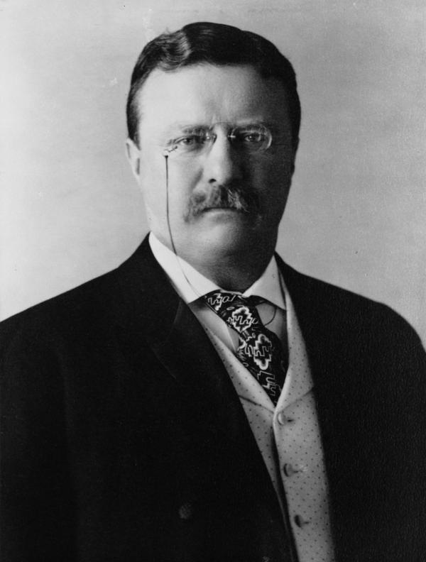 Pres. Roosevelt in 1904
