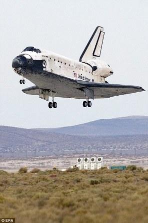 Space Shuttle Landing 03